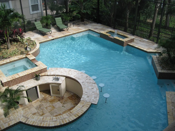 Cost of inground pool swimming pool quotes for Cost of swimming pool installation inground