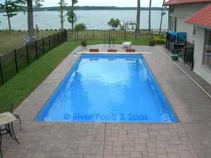 rectangle pool picture 1