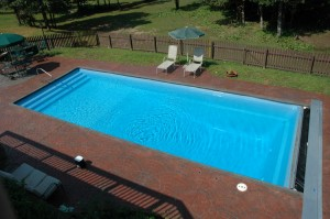 rectangle pool picture 8