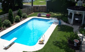 rectangle pool picture 11