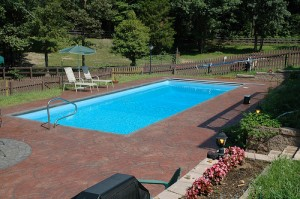 rectangle pool picture 6