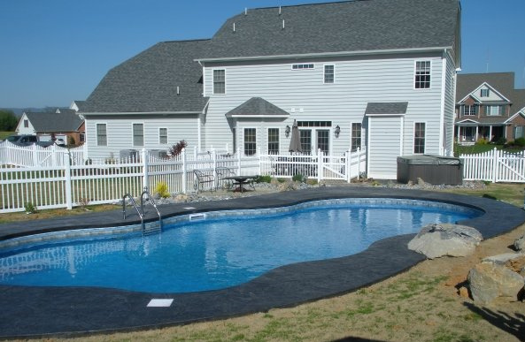 Virginia pool builder freestyle pools concrete and for Pool builder quotes
