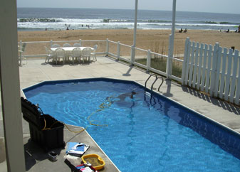Virginia Pool Builder Freestyle Pools Concrete And