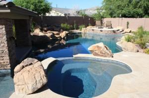 Arizona swimming pool - free form style