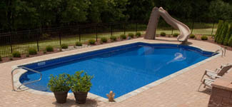 Vinyl pool shapes swimming pool quotes for Grecian pool shape