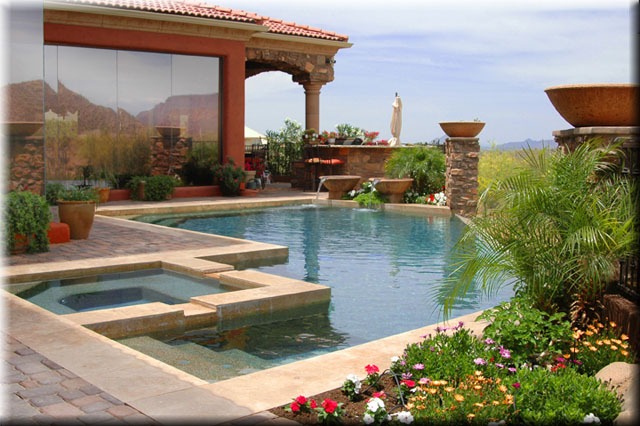 Arizona pool cost swimming pool quotes for Garden pool in arizona