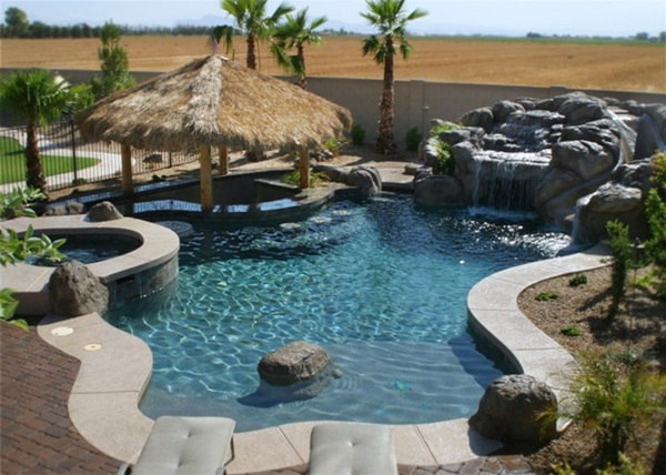 Arizona Swimming Pools. Arizona Swimming Pool   Free Form Style