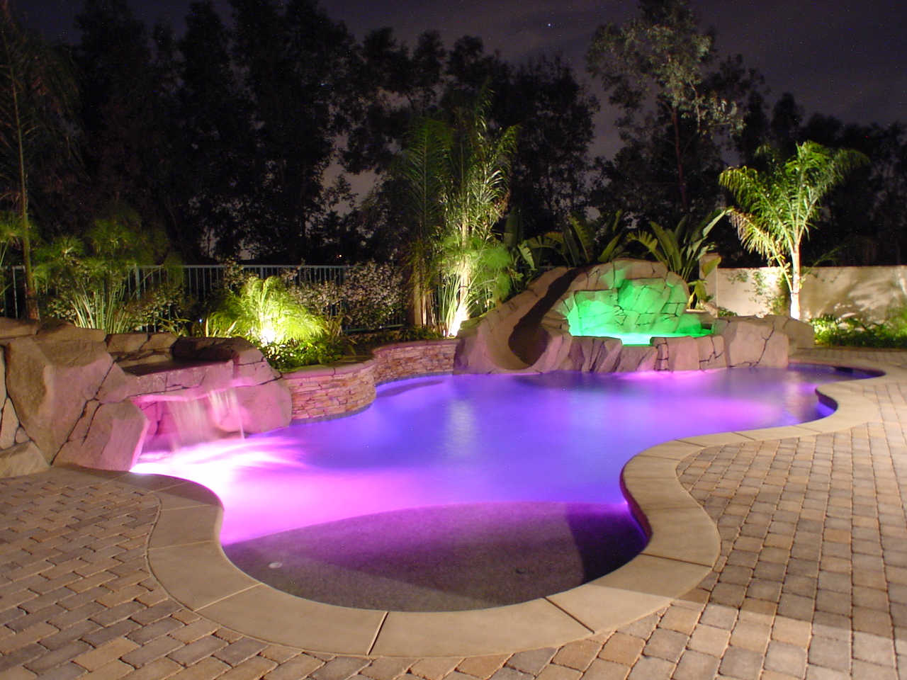 Swimming pool lights swimming pool quotes - Swimming pool lighting design ...