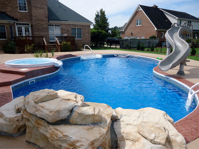 Pool pro of greenville swimming pool quotes for Pool design greenville sc